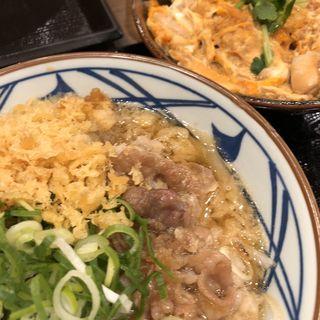 肉うどん 親子丼(小)(丸亀製麺 若江東店 )
