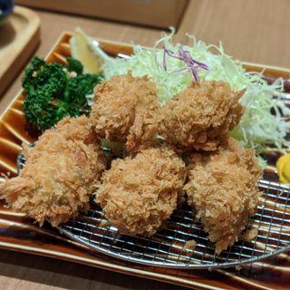 牡蠣フライ御膳