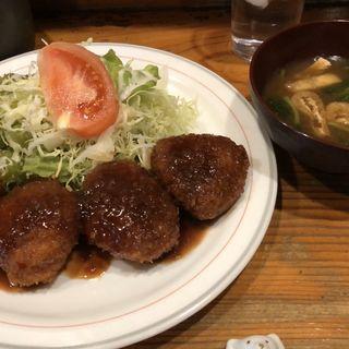 チーズ入りヒレカツ(キッチン くま)
