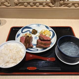 トロたん上たん味くらべ定食(牛たん料理 大黒や ジョイナステラス二俣川店)