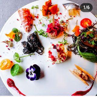 10種類の前菜  ランチコース(ル・アイ 谷町店 (LEAI))