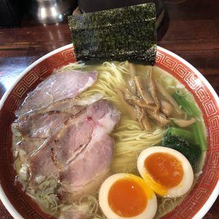 特製塩細麺(懐や )