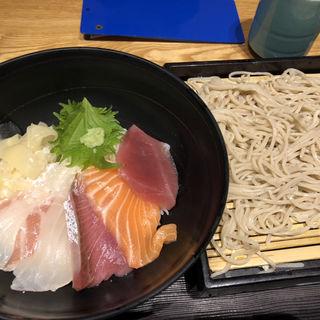 海鮮丼セット(稲田屋 大手町店 )