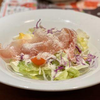 生ハムのシーザーサラダ(デニーズ 築地店 (Denny's))