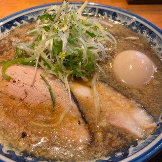 味玉入煮干しそば(麺屋 八海山 )