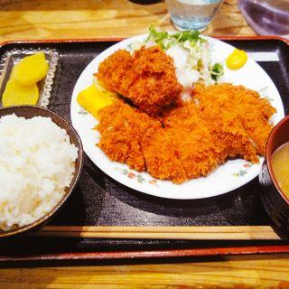 チキンカツ定食(串揚げぴん )
