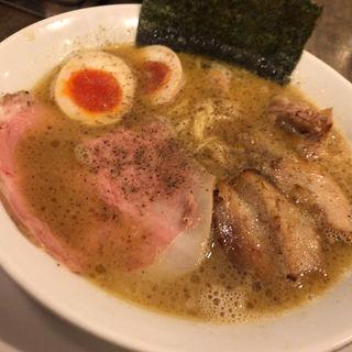 鶏魚介らぁめん(岡本商店 谷町店)