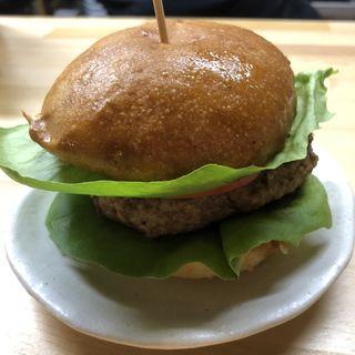 ハンバーガー(まちカフェ あい)