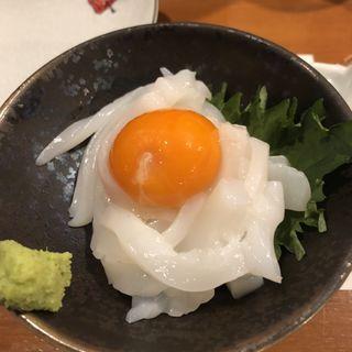 イカ月見(旬味旬菜 大和)