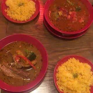 豚角煮のスープカレー(COSMO)