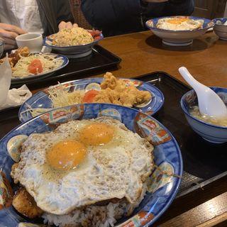 元祖焼豚玉子飯(白楽天 (ハクラクテン))