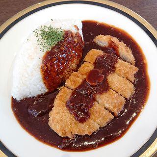 ロース豚カツ早矢仕ライス(M&C Cafe 川崎店)