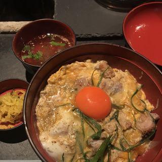 山椒親子丼(青山 鶏味座 本店 (とりみくら))