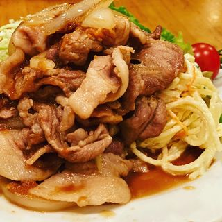 豚肉生姜焼き(菱田屋 (ヒシダヤ))