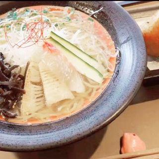 鯛らーめんセット(塩)鯛めし焼きおにぎり付(麺処 彩 (サイ))