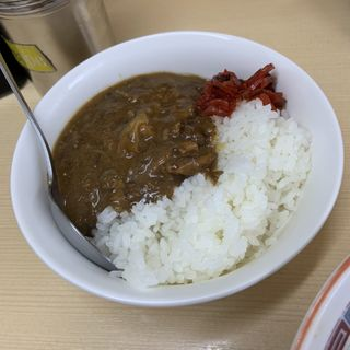豚カレーごはん(スパイシー)(煮干鰮らーめん 圓 (エン))