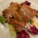 若鶏のソテー生姜焼き風