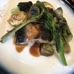 鰻と山菜のソテー