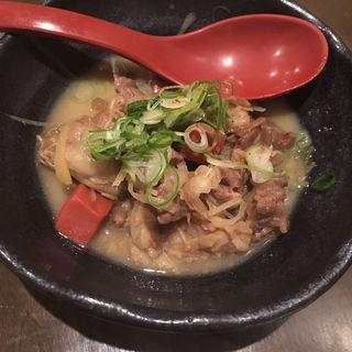 牛すじ肉と近江蒟蒻の味噌煮込み(まんざら亭 先斗町店 (まんざらてい))