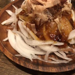 新玉ねぎスライス(肉洋食オオタケ)