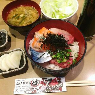 海鮮丼(和食ダイニングたけちゃん)