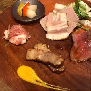 肉5種盛り(肉洋食オオタケ)