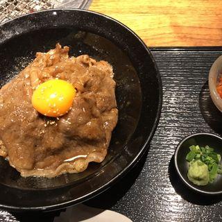 黒毛和牛特選丼(焼肉トラジ 横浜モアーズ店)
