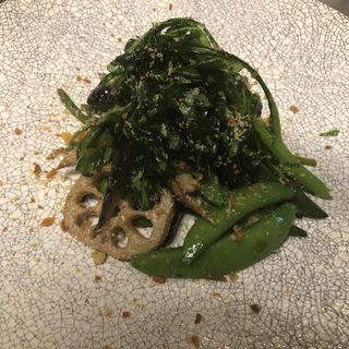 旬の野菜のアンチョビニンニクソテー(ビストロオーズ (BISTRO O'z))