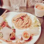 つけ麺 海老とトマトのスープ