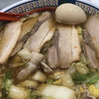 小チャーシュー煮玉子ラーメン(どうとんぼり神座 アトレ川崎店)