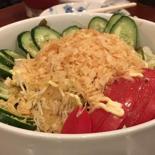 野菜サラダ(おたまじゃ串 )