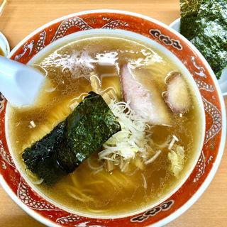 支那そば(支那ソバ かづ屋 目黒店(本店))