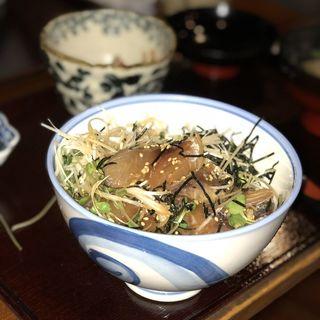 極上サバの漬丼定食(観音食堂 七兵衛 )