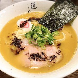 濃厚鶏白湯ラーメン(麺屋 藤しろ )