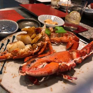 伊勢海老のマヨグラタン焼き(寿司割烹 みやもと)