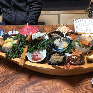 舟盛り(寿司割烹 みやもと)