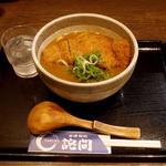 カツカレーうどん(釜揚饂飩詫間)