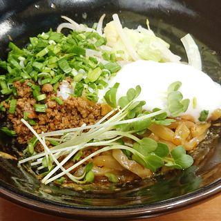 重慶汁なし担々麺(麺処よっちゃん)