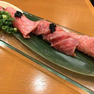 黒毛和牛寿司(肉バル KACCHAN (ニクバル カッチャン))