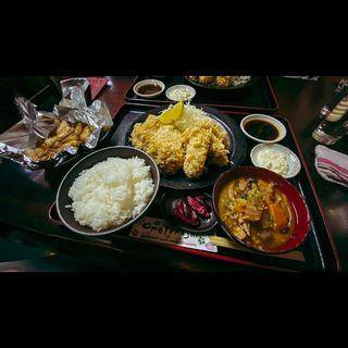 トリプフ定食(しのざき )