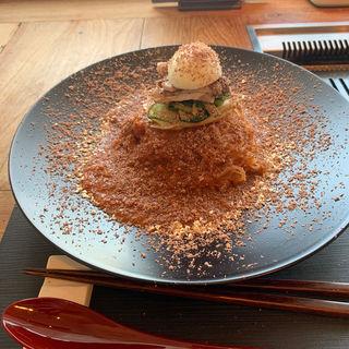 ショコラビビン麺(ぴょんぴょん舎  GINZA UNA)