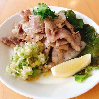 ネギ塩豚バラ焼肉(Sasazuka Dining&Bar Yorimichi)