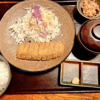 牛カツ定食(牛かつ いち華 )