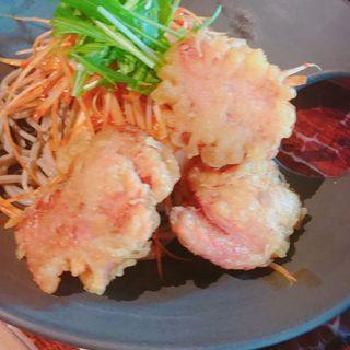 伊勢海老出汁辛味つけ汁肉蕎麦(伊勢海老蕎麦 清正)