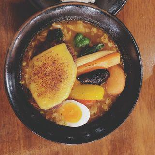 チキンと野菜たっぷりのスープカレー(北カフェ (キタ カフェ))