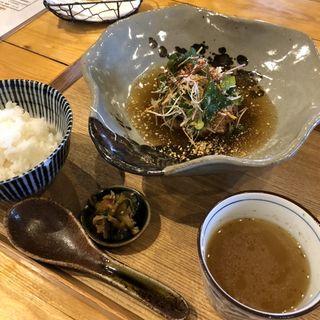 れんこん饅頭(三種御膳)
