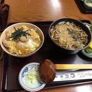 親子丼セット(朝日屋 )