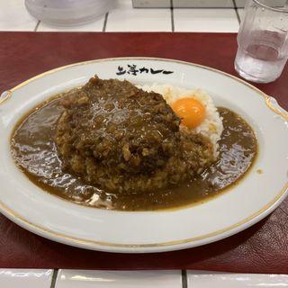 ミンチカツカレー(上等カレー 神田小川町店)