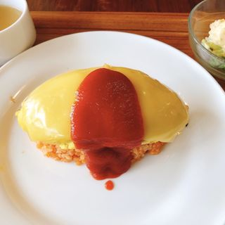 きらきらチーズオムライス(ヒュッゲ (hygge))