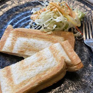 ハムチーズホットサンド